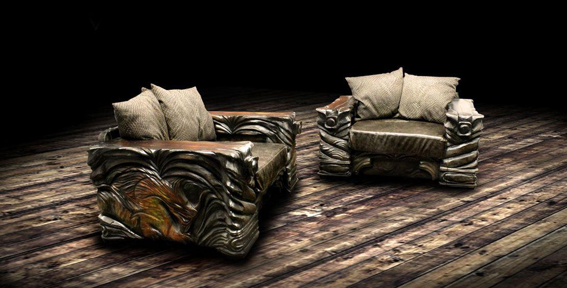 Puustikki Viikinki nojatuoli