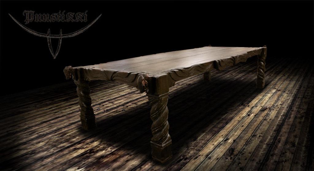 Puustikki Viikinki ruokapöytä